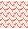 valentine seamless polka dot geometry pattern with vector image