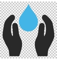 Water Care Icon vector image