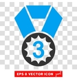 Third Place Eps Icon vector image