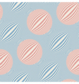 striped bubbles print vector image vector image