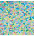 seamless colorful zig zag triangle pattern vector image vector image