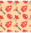 BBQ seamless pattern vector image