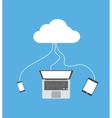 cloud computing technology concepts vector image
