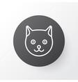 cat icon symbol premium quality isolated kitten vector image