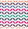 chevron pattern seamless pastel colors vector image