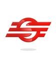 sport business logo S logo vector image