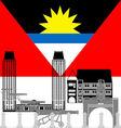 Antigua and Barbuda vector image
