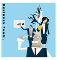 Business Idea series Business Team 1 concept vector image