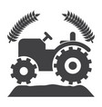 Agriculture icon vector image