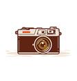 Classic Camera vector image