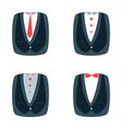 suit for businessman vector image