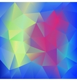Abstract Colorful Triangles polygonal Background vector image