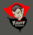 Count Dracula vampire character vector image