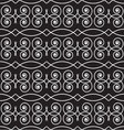 seamless geometric pattern monochrome vector image