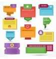 Set of web elements Labels tags banners vector image vector image