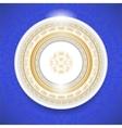 Ceramic Ornamental Plate vector image