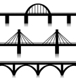 Bridges set vector image