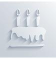 birthday background eps10 vector image