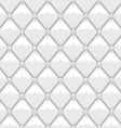 Seamless Stitched Leather Upholstery vector image