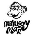 monkeyman vector image vector image