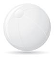 beach ball 01 vector image vector image