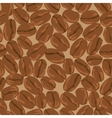 coffee beans seamless background Template for vector image