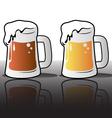 various beers vector image
