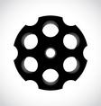 Revolver drum vector image