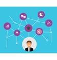 skills of businessman vector image