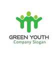 Youth Green Design vector image vector image