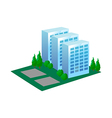 icon apartment vector image