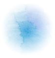 Abstract bright blue watercolor background vector image