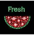 Gem Watermelon vector image vector image