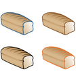 various bread vector image