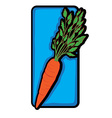 carrot clip art vector image