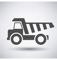 Tipper car icon vector image