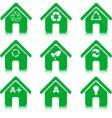 greenhousess vector image