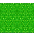 Green abstract curls seamless pattern vector image vector image