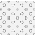 Virus seamless pattern vector image