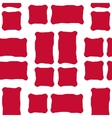 Danish flag seamless pattern vector image