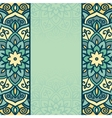 Abstract round ornamental vector image