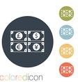 money bill vector image