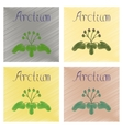 assembly flat shading style plant vector image