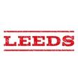 Leeds Watermark Stamp vector image
