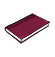 closed book cartoon symbol icon design beautiful vector image