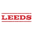 Leeds Watermark Stamp vector image
