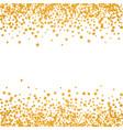 abstract pattern of random falling stars vector image