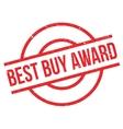 Best Buy Award rubber stamp vector image