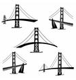 San Francisco 2 vector image