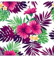 Tropical seamless pattern vector image
